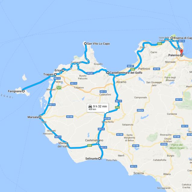 Sicily West Coast