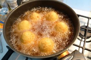 Arancini Cooking