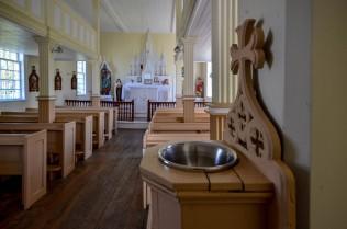 Inside of Holy Trinity Roman Catholic Church.