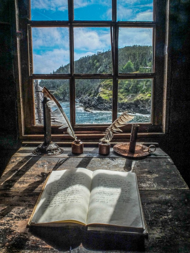 A window with a view.