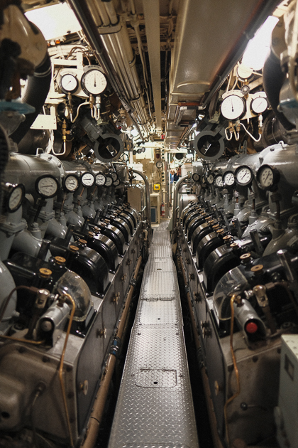 Inside Submarine