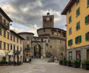 Castelnuovo di Garfagna Main Square