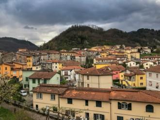Castelnuovo di Garfagna Roofs view