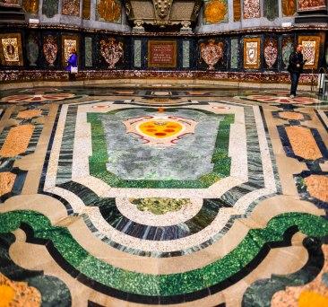 Medici Chapels - Floor in Chapel of Princes