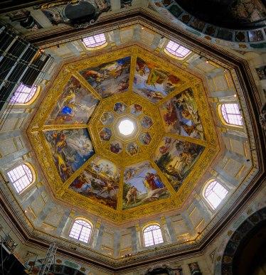 Medici Chapels - Ceiling in Chapel of Princes