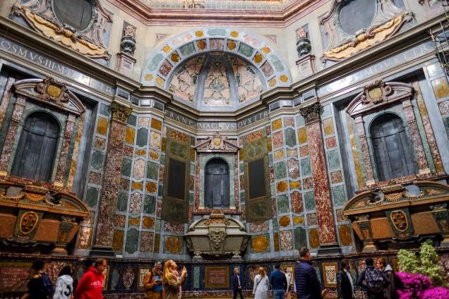 Medici Chapels - Tombs in Chapel of Princes