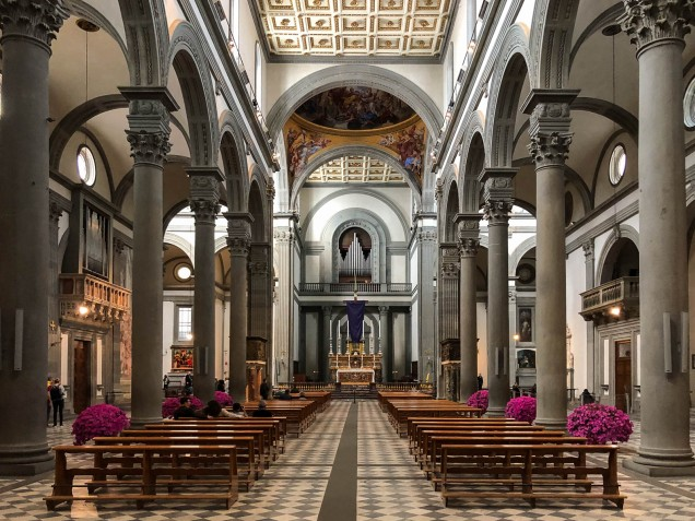 San Lorenzo Basilica Interior