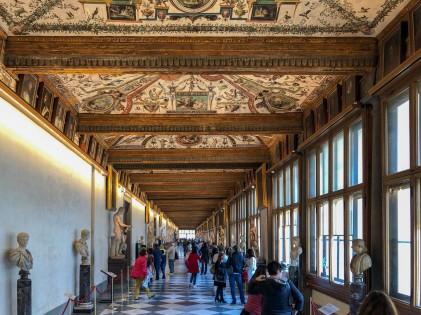 Uffizi Gallery - First Corridor