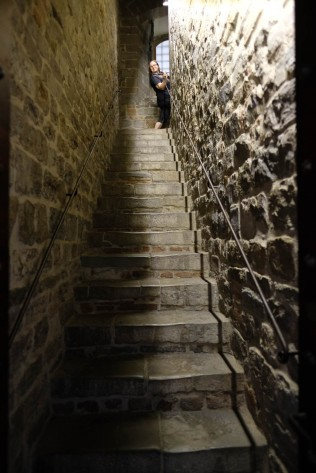 Palazzo Vecchio - Narrow stairs up the Tower