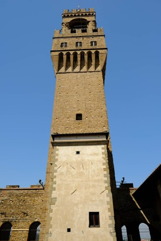 Palazzo Vecchio - Halfway up the Tower