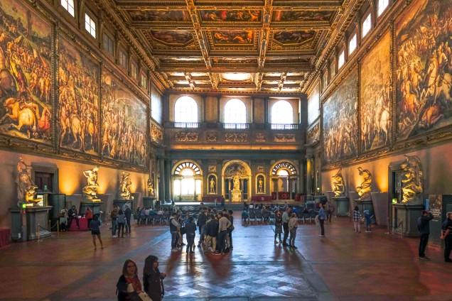 Palazzo Vecchio - Grand Hall (Salone dei Cinquecento)