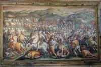 Palazzo Vecchio - Grand Hall (Battle scene wal painting)