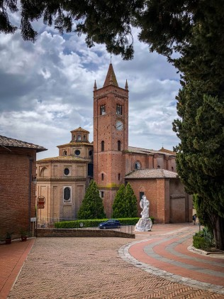 Abbey Monte Oliveto Maggiore