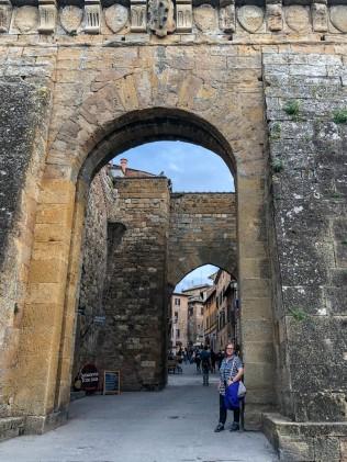 Montepulciano Porta to Historic center