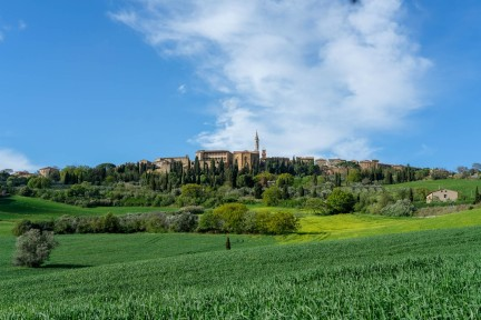 Val D'Orcia, Panorama, Pienza