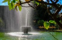 Palazzo Pfanner garden fountain