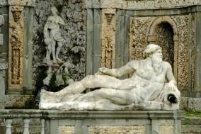 Villa Reale - Spanish Garden Statue