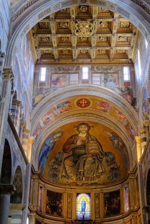 Il Duomo nave mosaic