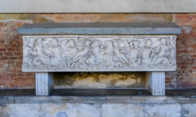 Camposanto Cemetery sarcophagus