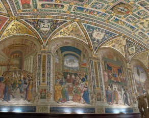 Siena Cathedral, Piccolomini library