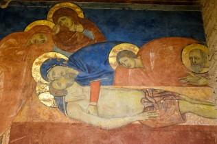 Siena Crypt, Frescoes