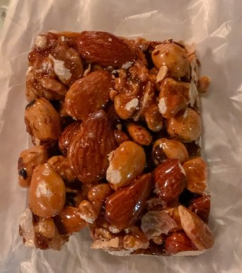 Mixed Nuts with Honey