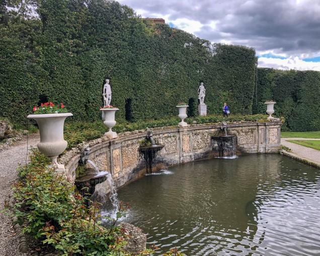 Villa Reale - Water Theater