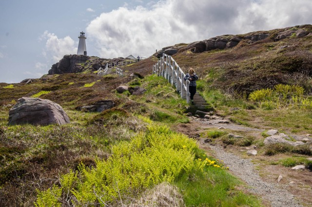 Day 4 - Cape Spear new lighthouse, fully automated